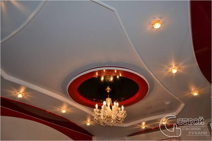 Главные особенности создания двухуровневых потолков