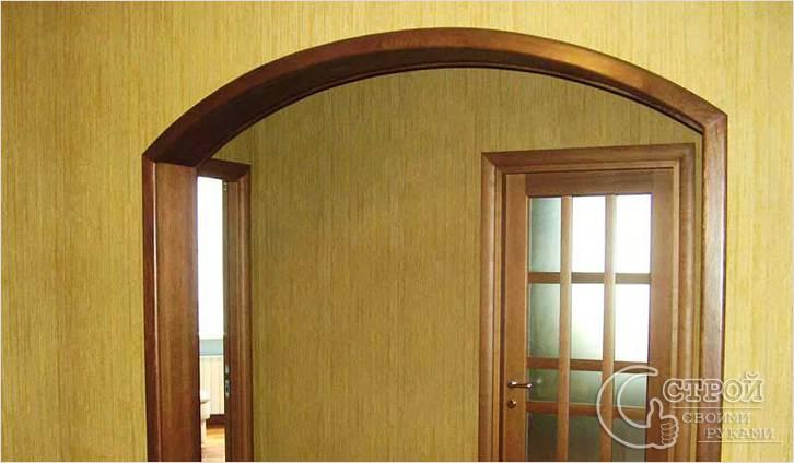 Из чего можно сделать арку в дверном проеме