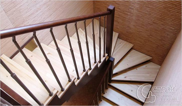 Как сделать лестницу на второй этаж своими руками (фото