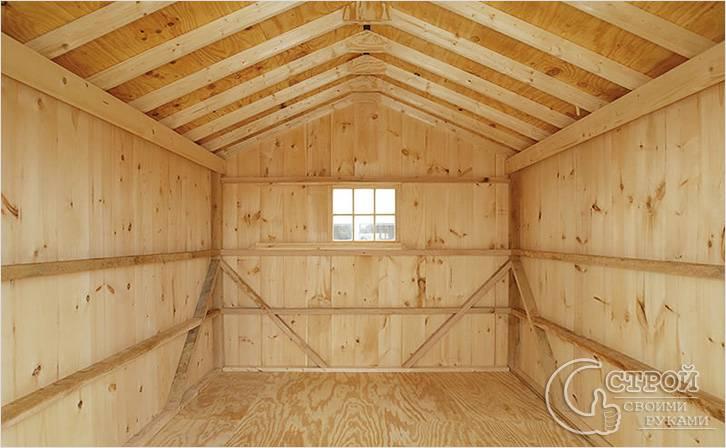 Как построить гараж дёшево своими руками