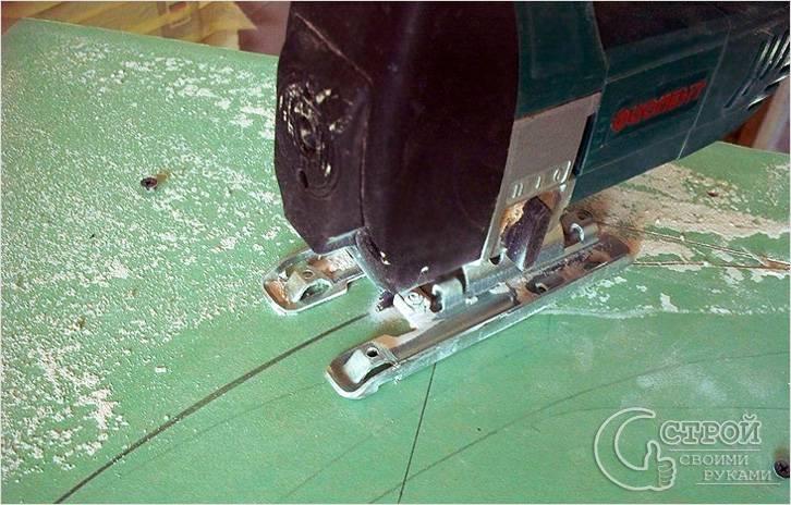 Как резать гипсокартон - режем гипсокартон