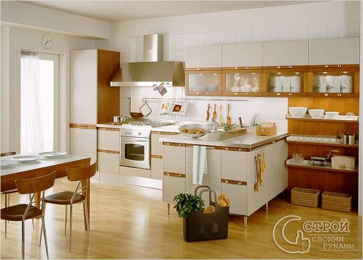 Ламинат, подходящий для кухни