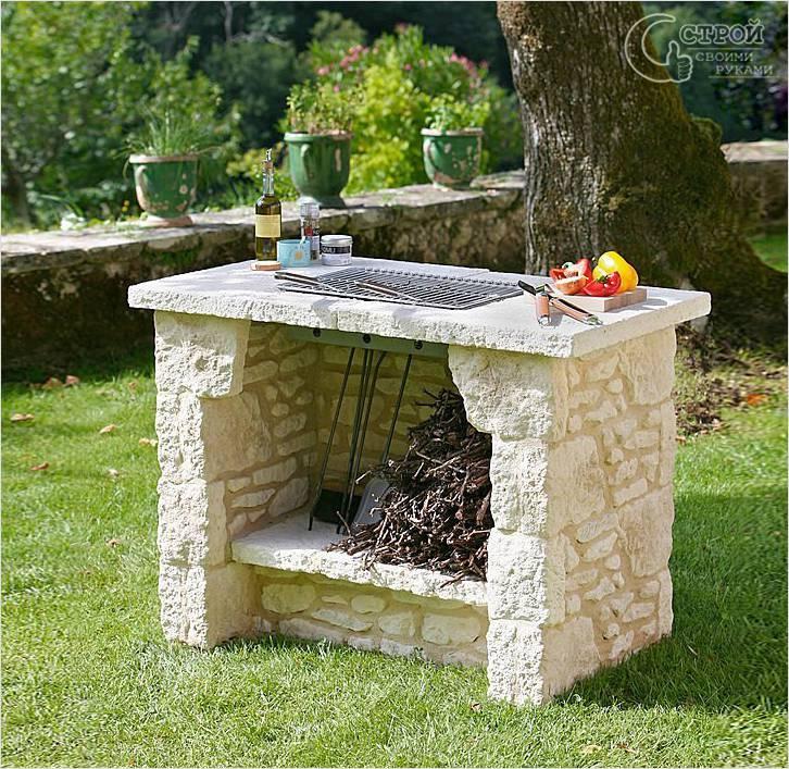 Печь из камня для дома