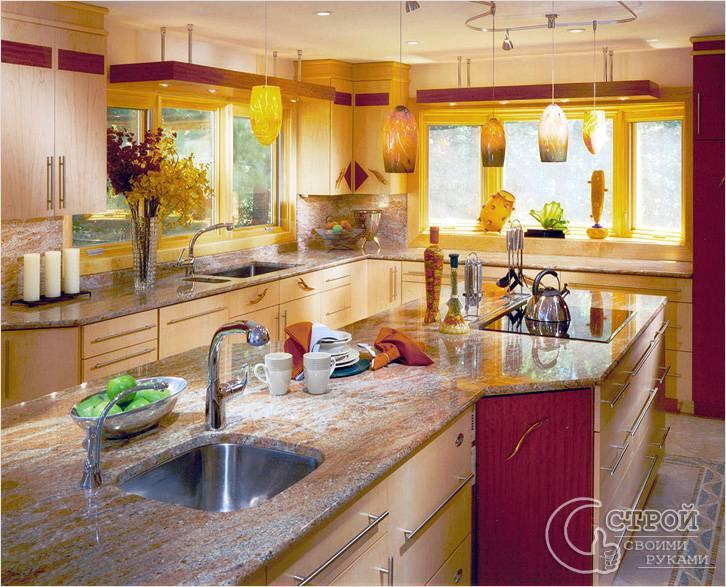 Материалы для кухонь