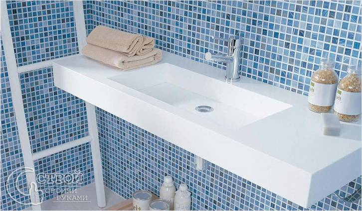 Ремонт в ванной своими руками мозаикой
