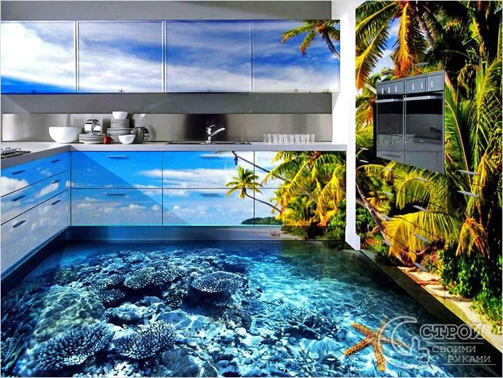 Наливные полы в своем доме своими руками
