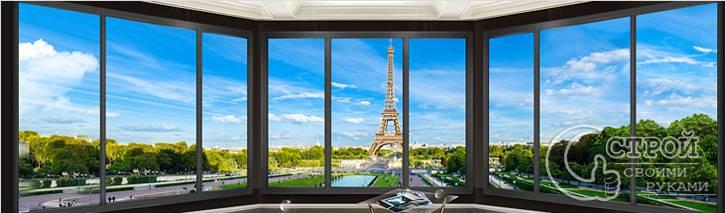 Панорамное фальш-окно