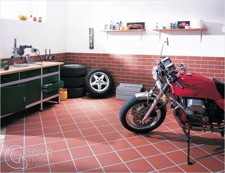 Плитка в гараж