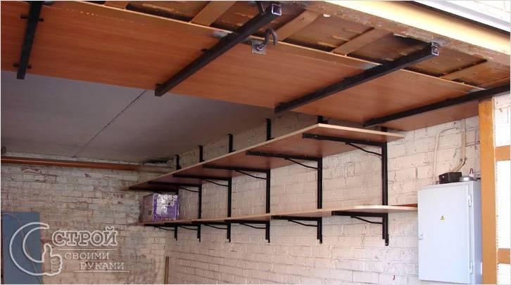 В силу особенных конструктивных особенностей, подвесные полки, используемые для обустройства гаража...