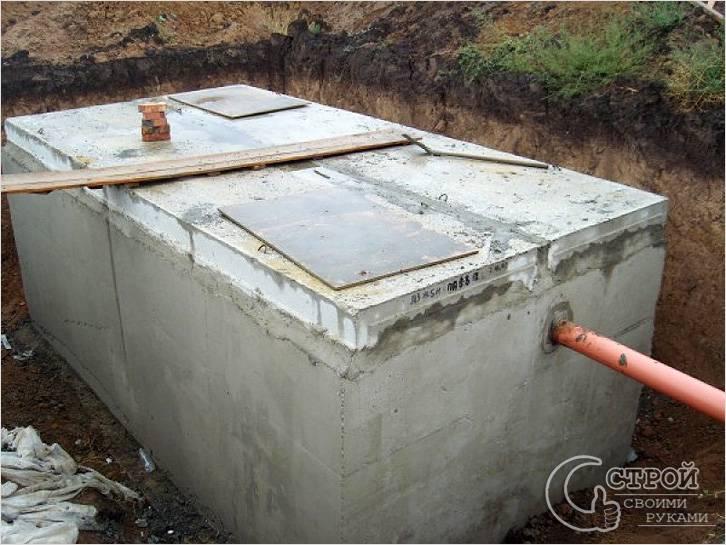 Подвод канализации к септику