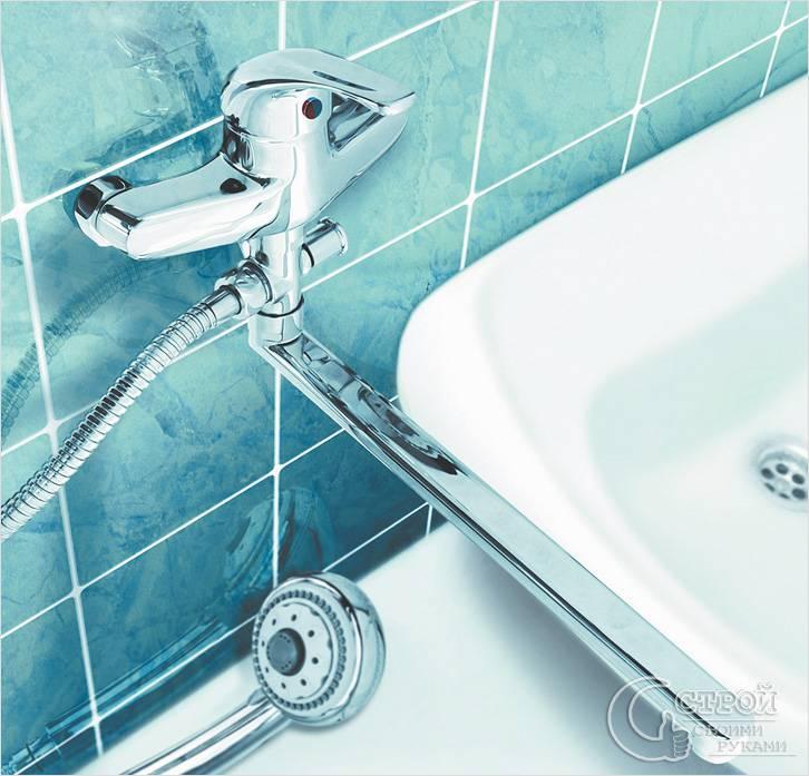 Поломки однорычажного смесителя для ванной