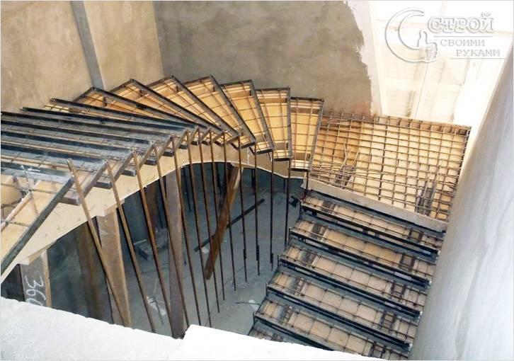 Порядок изготовления лестницы