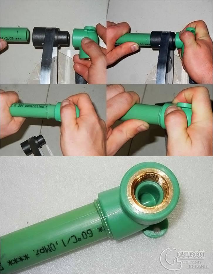 Сварка для полипропиленовых труб своими руками 846