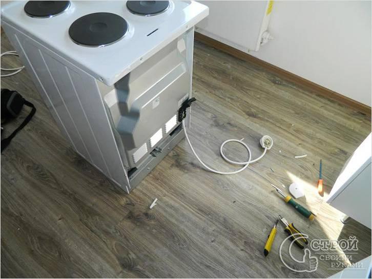 подключению электроплиты