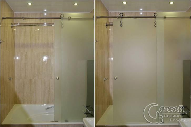 Ширмы для ванной комнаты фото