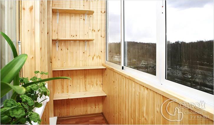 Ремонт балкона своими руками фото