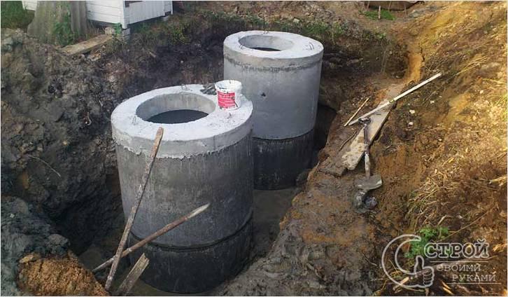 Выгребная яма с переливом: принцип работы, схемы сооружения 9