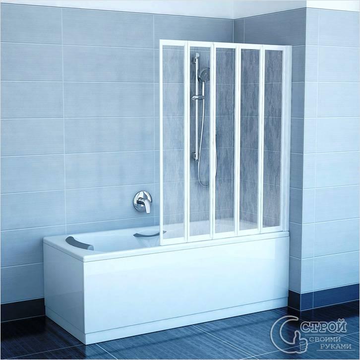 Складная ширма для ванной