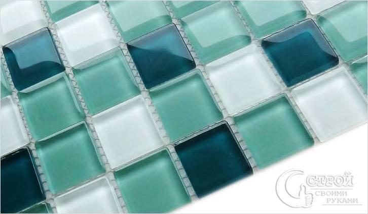 Стеклянная мозаика — вид
