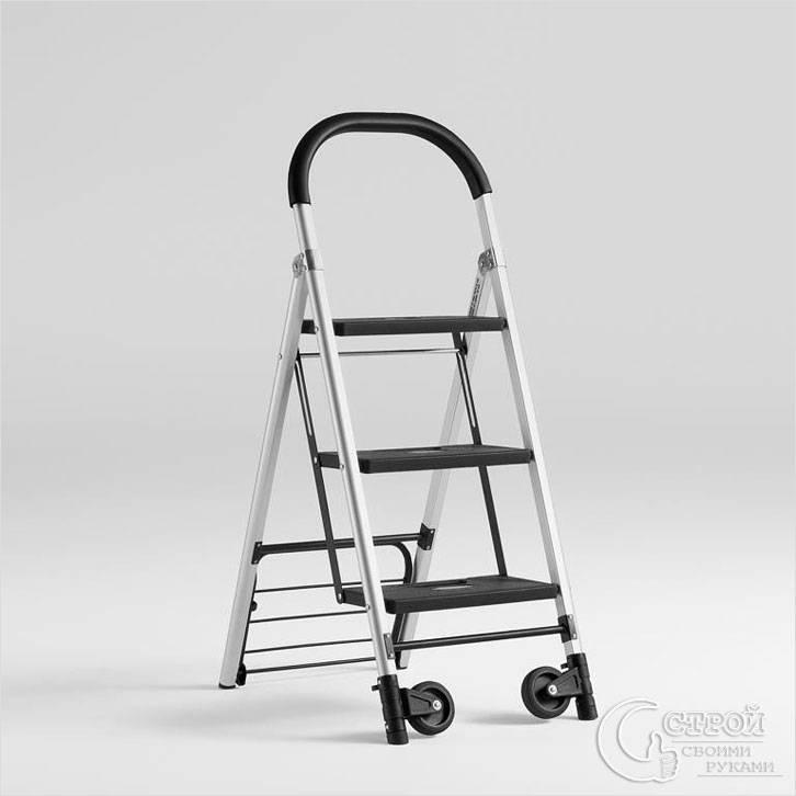 Стремянка на колесиках