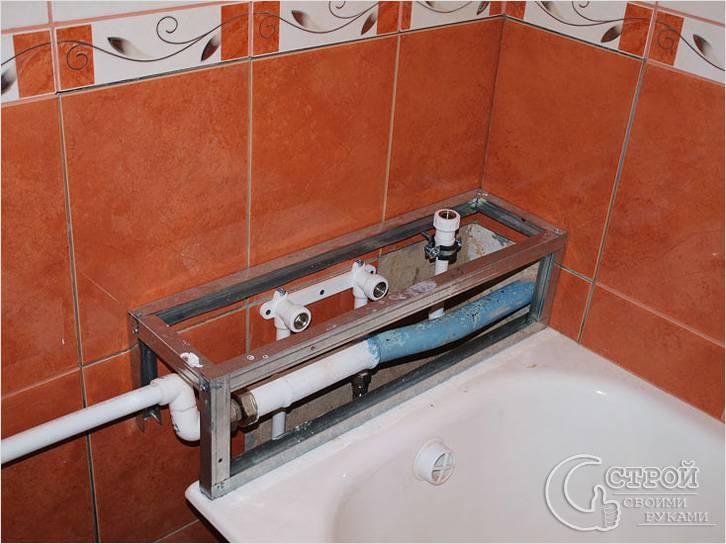 Как отремонтировать ванную комнату панелями пвх