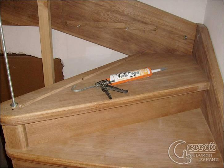 Строительство забежной лестницы