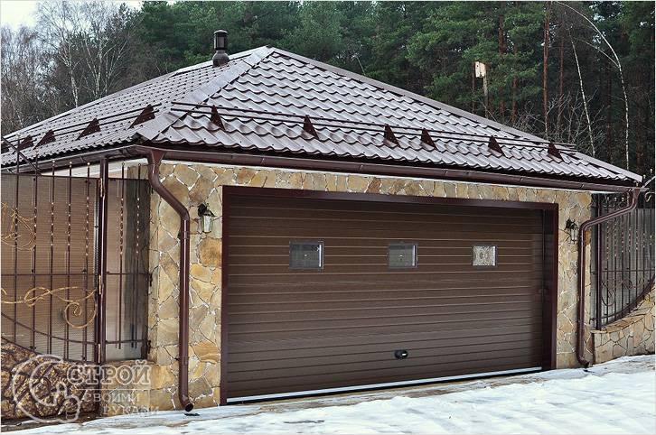 Как сделать подъемные ворота в гараж своими