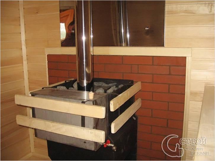 Как сложить печь в баню из кирпича своими руками