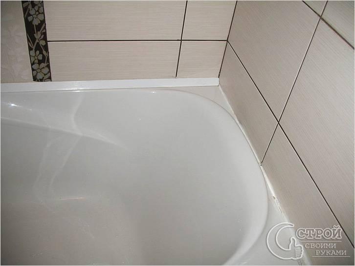 Клей для заделки швов в ванной