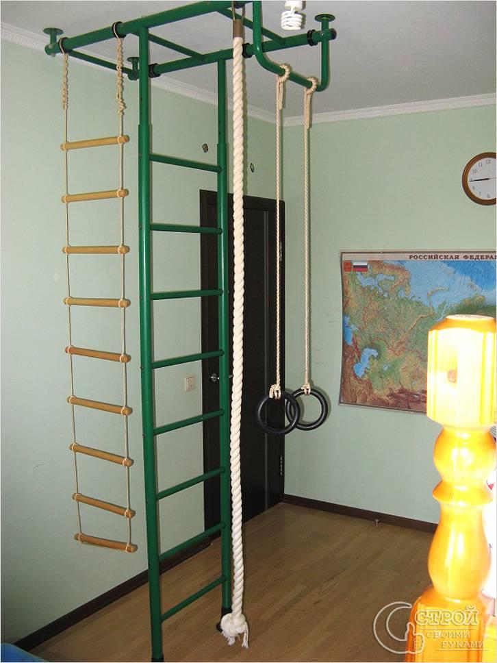 Веревочная лестница как спортивный снаряд