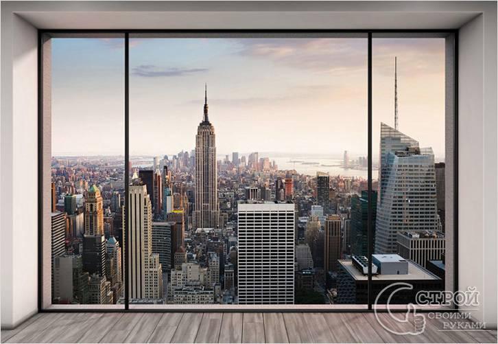 Вид New York