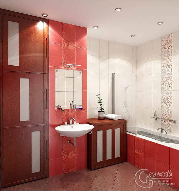 Выбор цветового оформления ванной